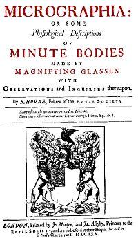 Robert Hooke - Micrographia