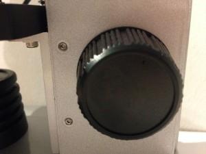 mikroszkóp durvabeállító csavar