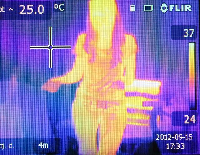 Thermografie - Wärmebildkamera